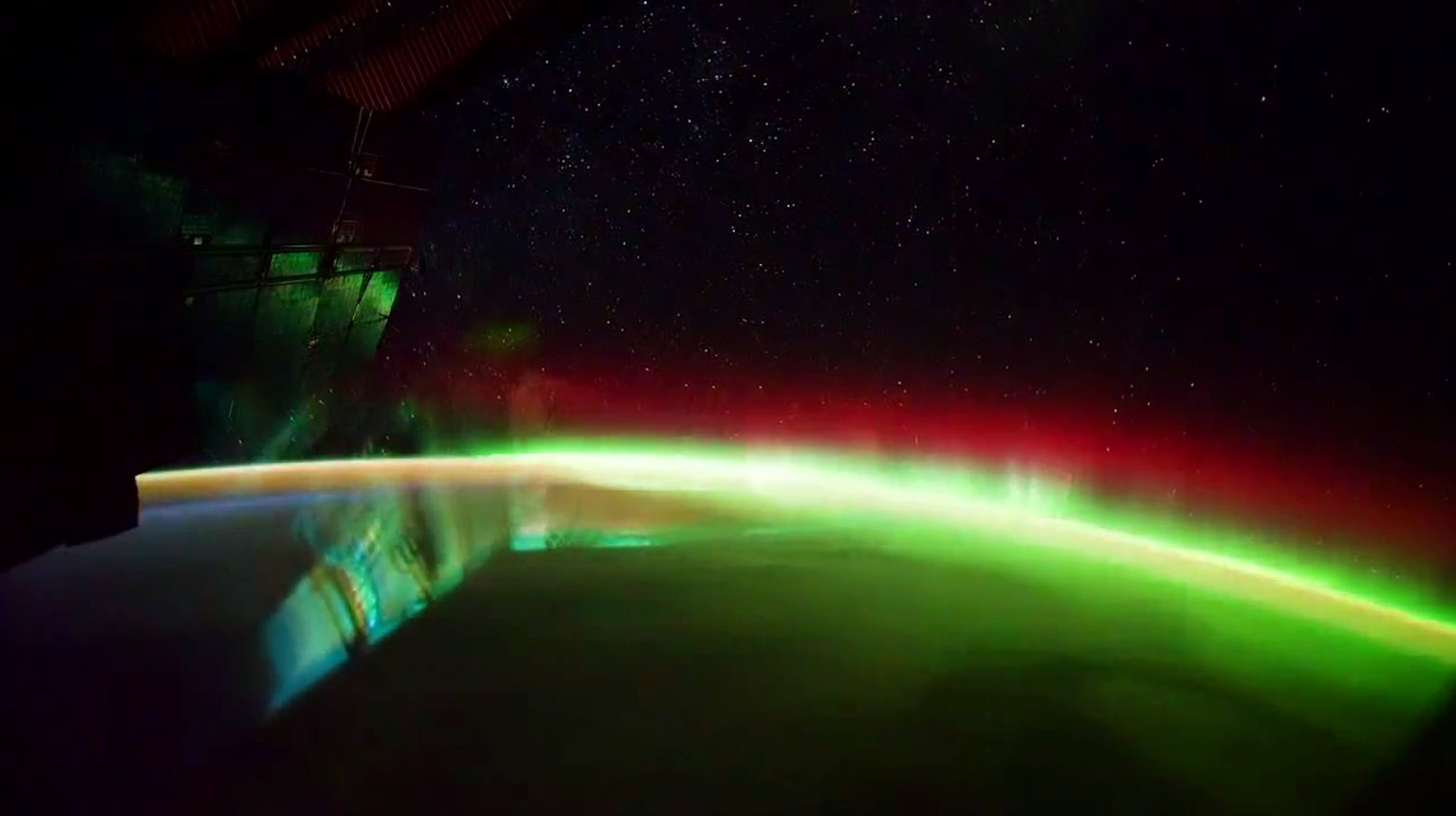2014 – Plankton Found on Surface of International Space Station