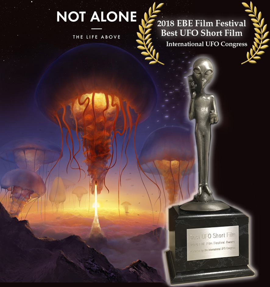 Not Alone – The Life Above Wins EBE Award
